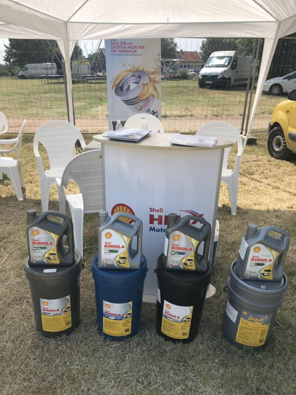 Shell Rimula ulja i maziva na poljo sajmu