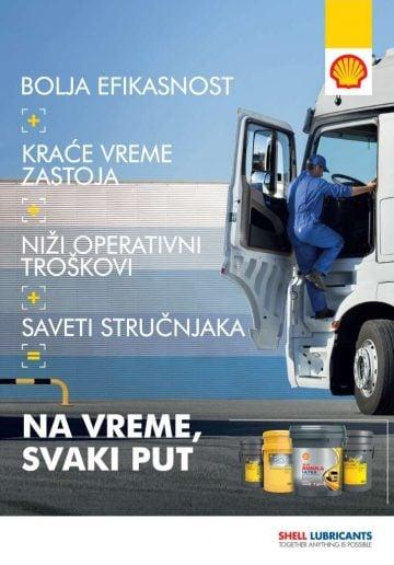 shell rimula, ulja i maziva za kamione, prednosti maziva i ulja, akcija, driveline