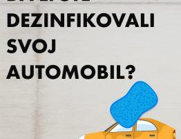 Dezinfekcija automobila, preventiva prenosa Covid-19