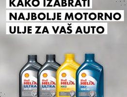 Izaberite najbolje motorno ulje za vaš auto