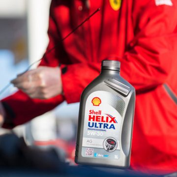 Shell Helix ulje i serviser