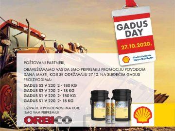 Pripremite se za Gadus day!
