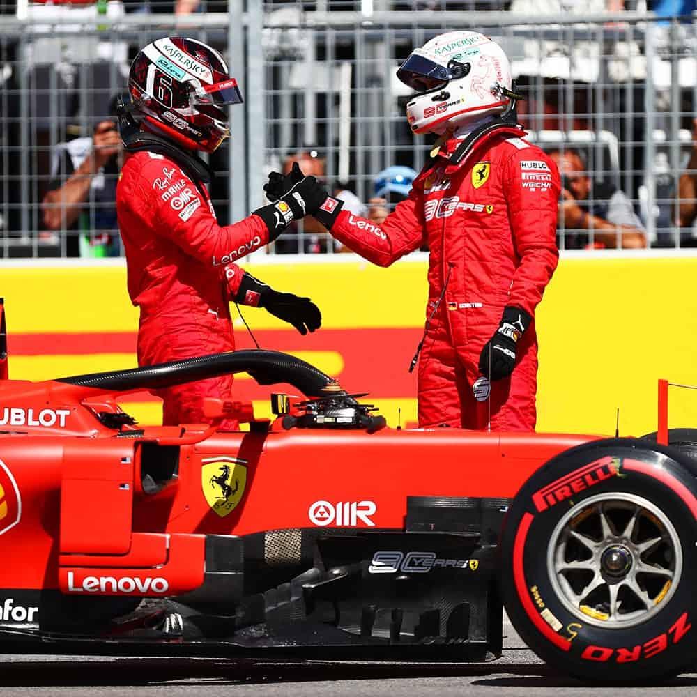 Ferrari i Shell