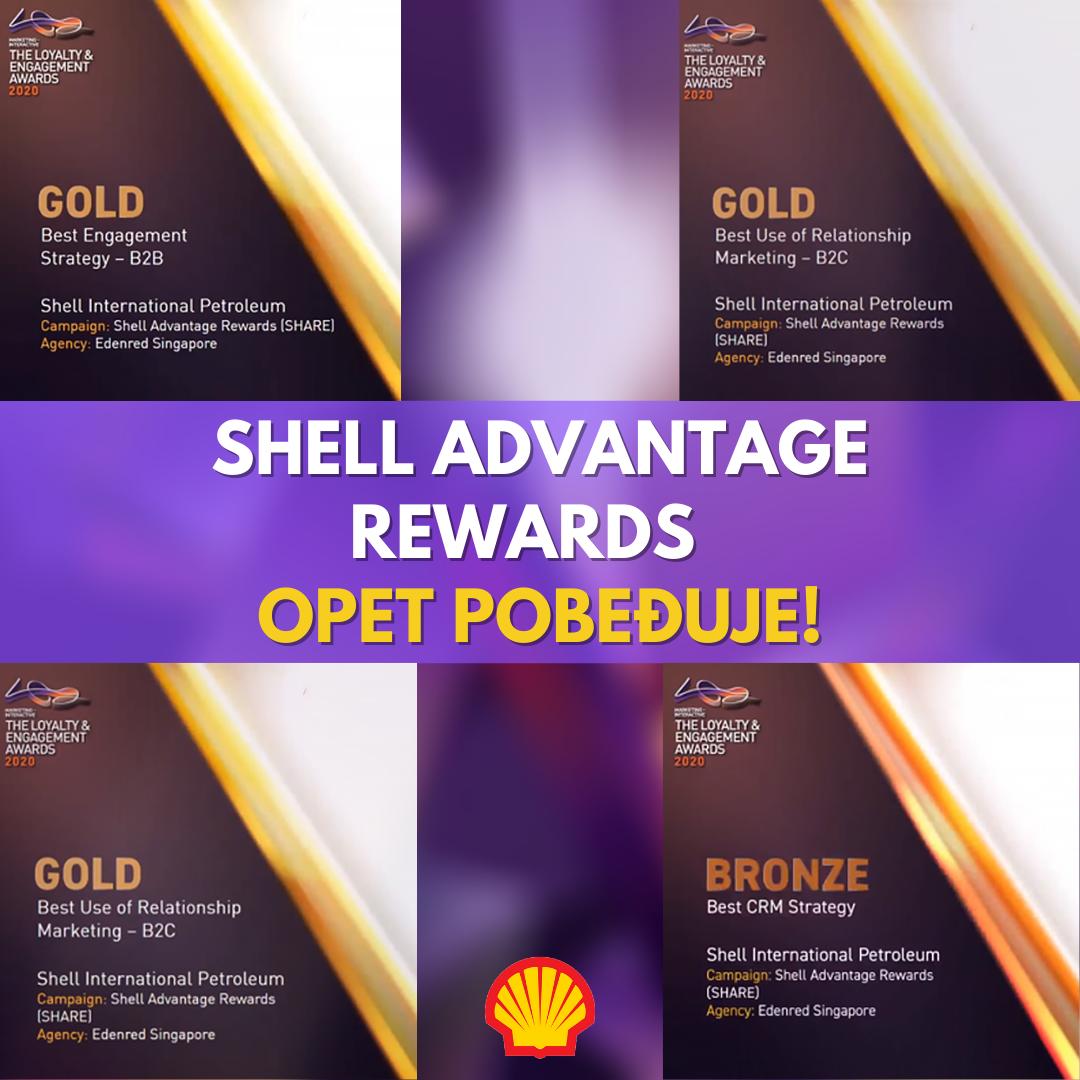Shell Advantage Rewards OPET POBEĐUJE!