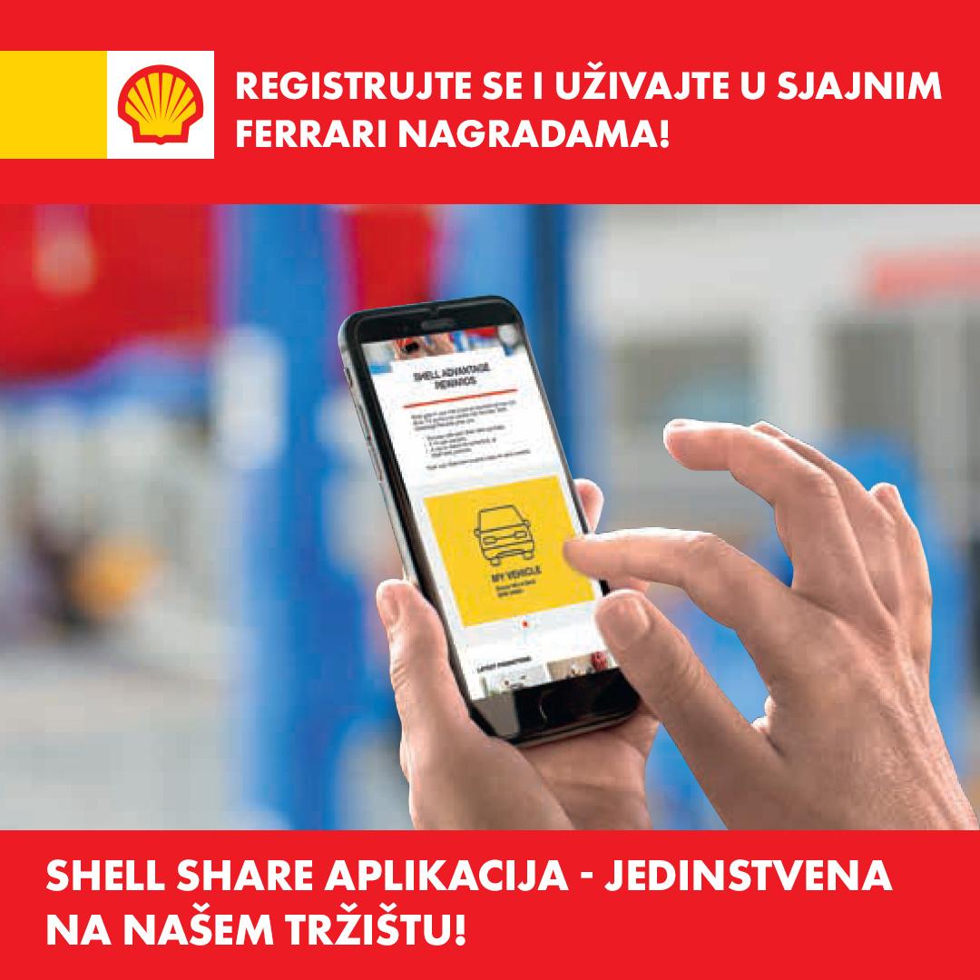 Shell Share Aplikacija