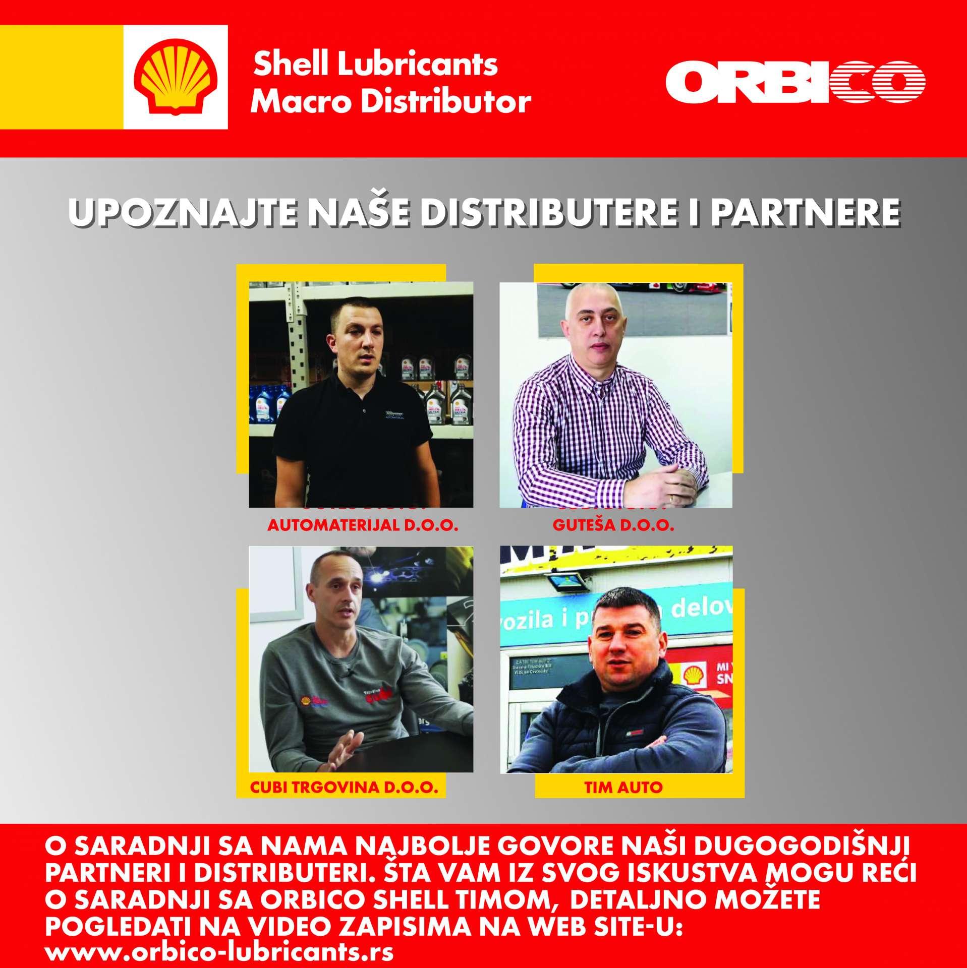 Upoznajte naše distributere i partnere