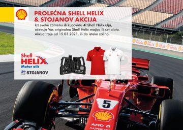 Prolećna Shell Helix i Stojanov akcija