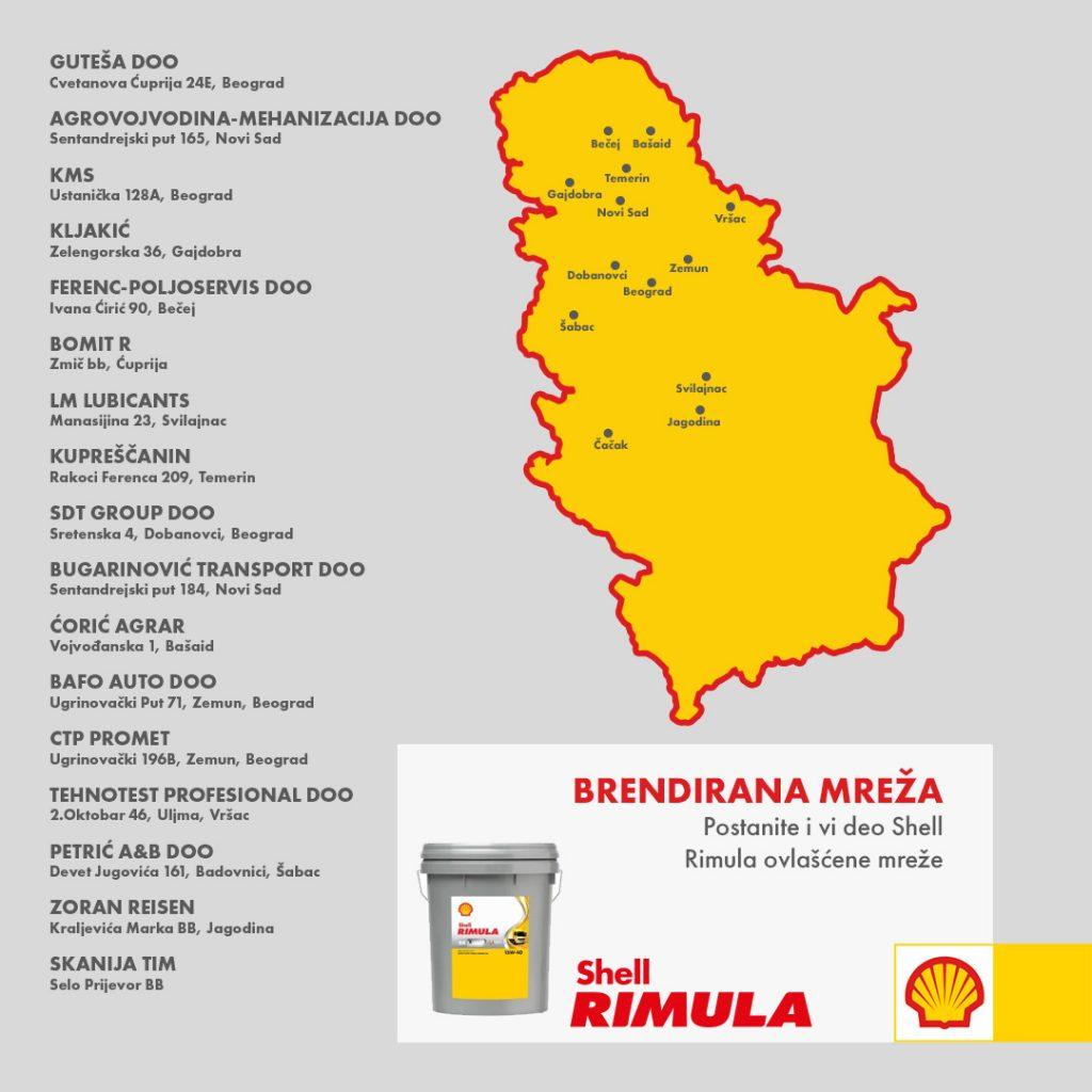 Shell Rimula mreža