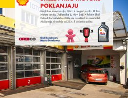 Shell i Trio Motors poklanjaju