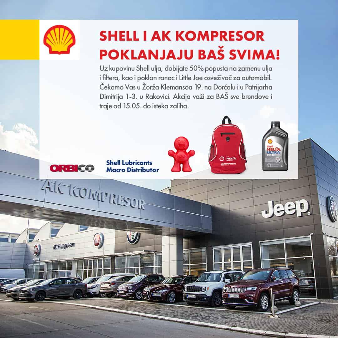 Shell i AK Kompresor poklanjaju baš svima!